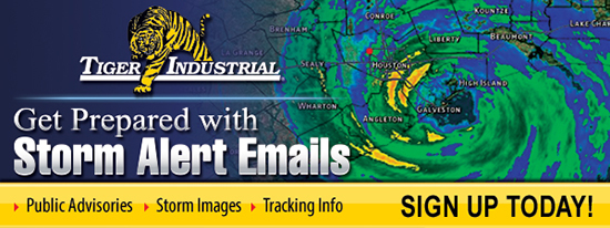 Sign up for Tiger Storm Alerts