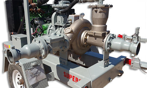 Tiger Industrial Rentals Super 6 Pump with Nedox Coating